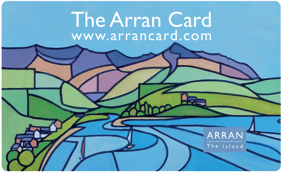 The Arran Destination Card